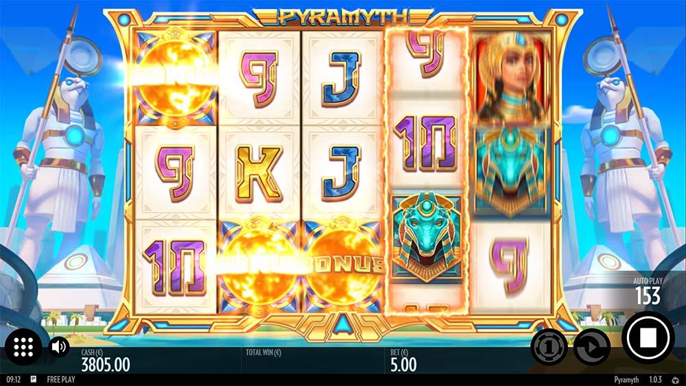 Pyramyth Slot - Bonus Trigger