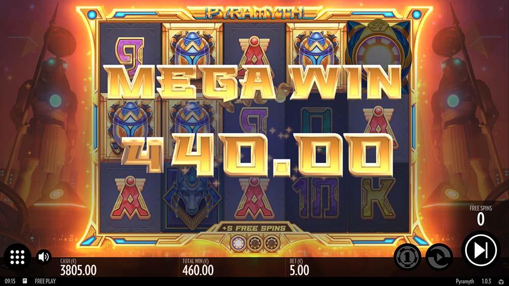 Pyramyth Slot - Mega Win