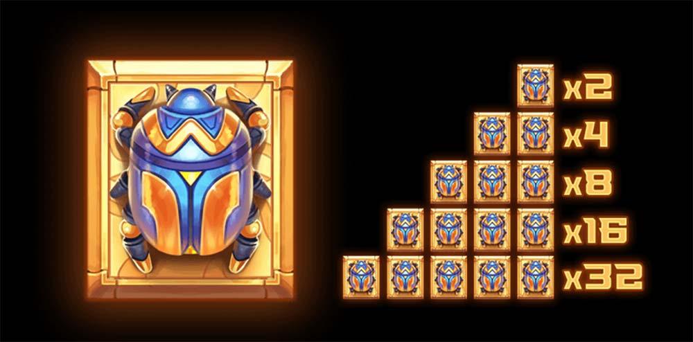Pyramyth Slot - Wild Multipliers