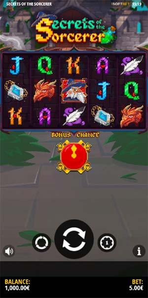 Secrets of the Sorcerer Mobile Slot - Base Game