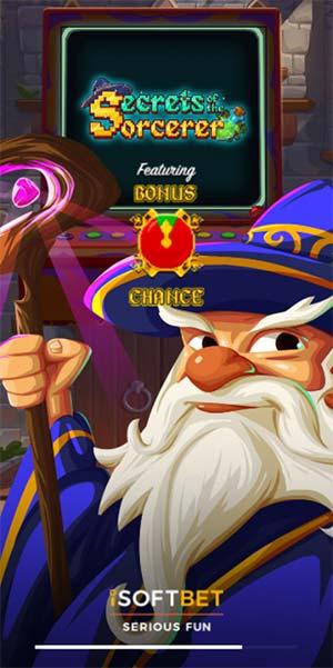 Secrets of the Sorcerer Mobile Slot - Loading Screen
