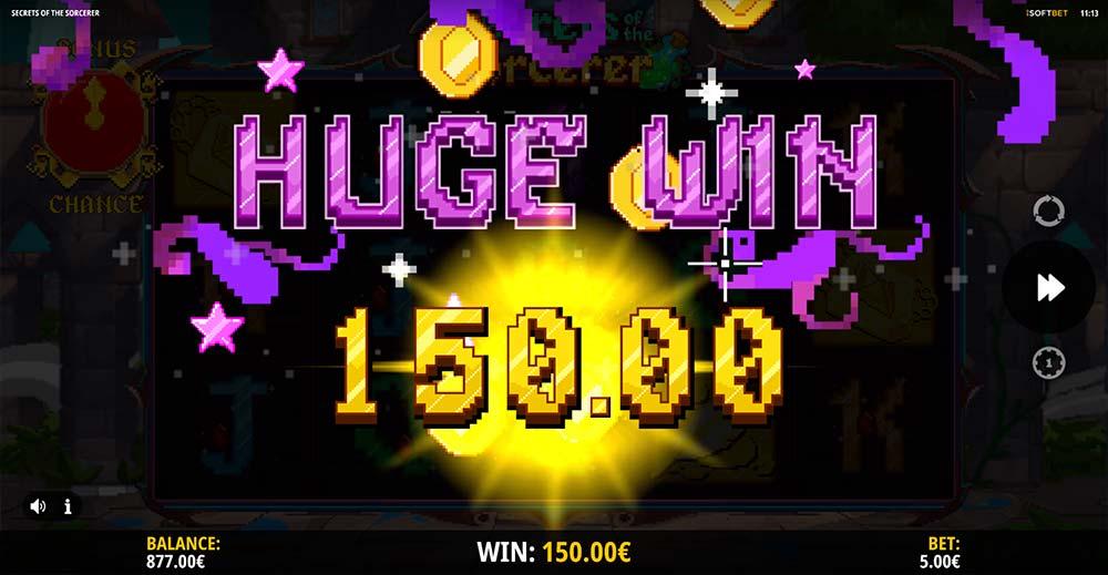Secrets of the Sorcerer Slot - Huge Win