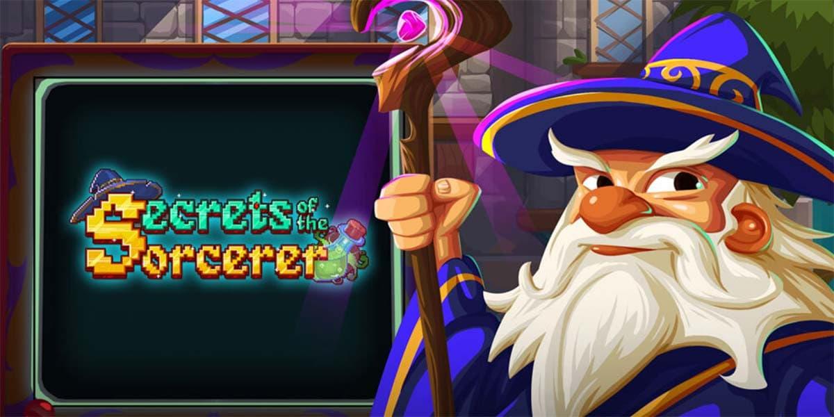 Secrets of the Sorcerer Slot Logo