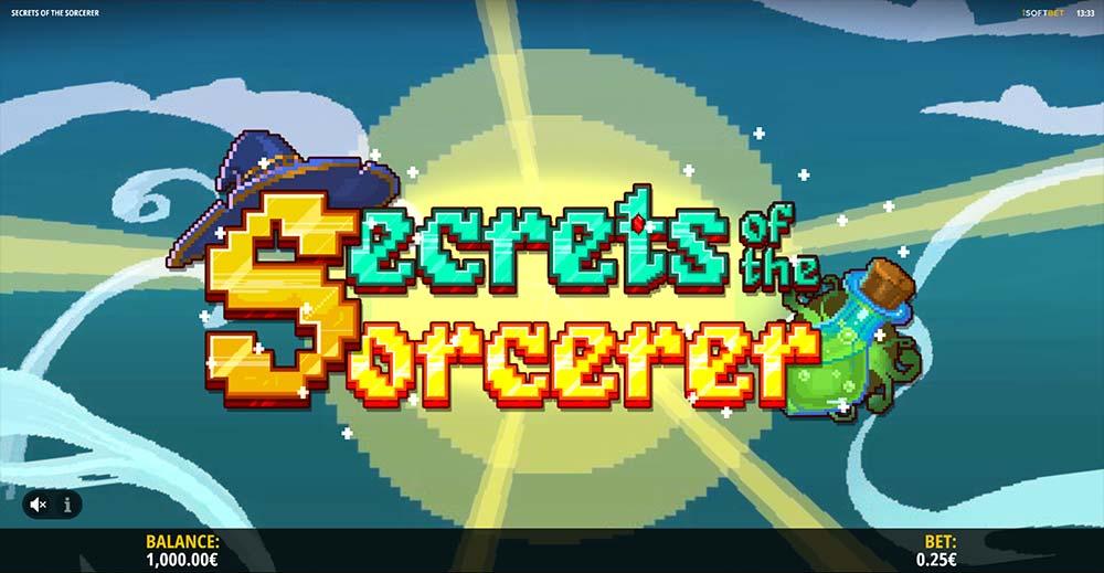 Secrets of the Sorcerer Slot - Retro Loading Screen
