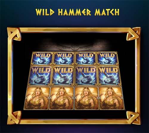 Wild Hammer Match Feature