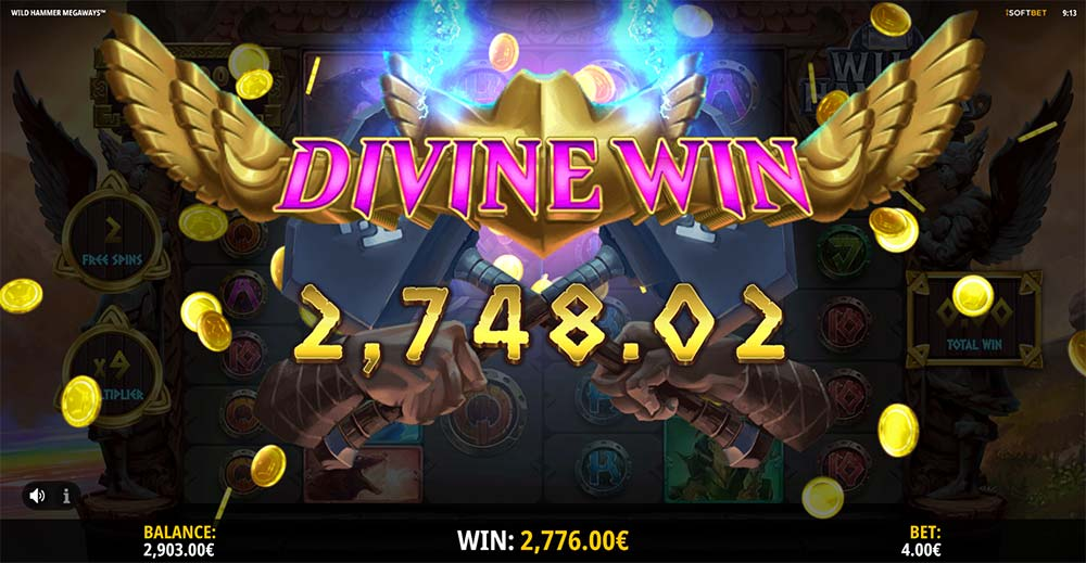 Wild Hammer Megaways Slot - Divine Win