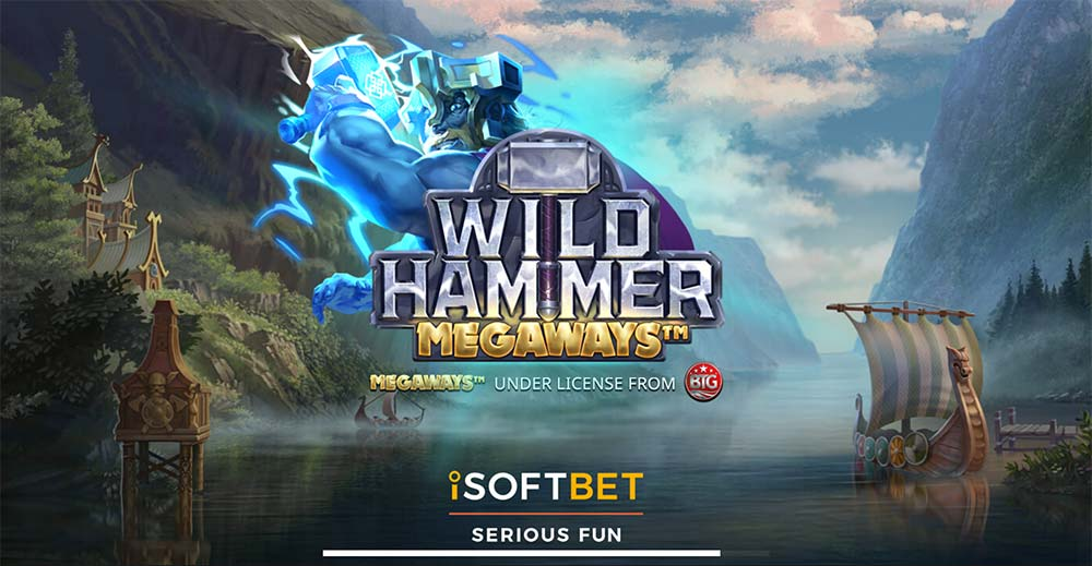 Wild Hammer Megaways Slot - Loading Screen