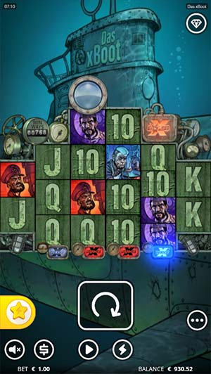 Das xBoot Mobile Slot - Base Game