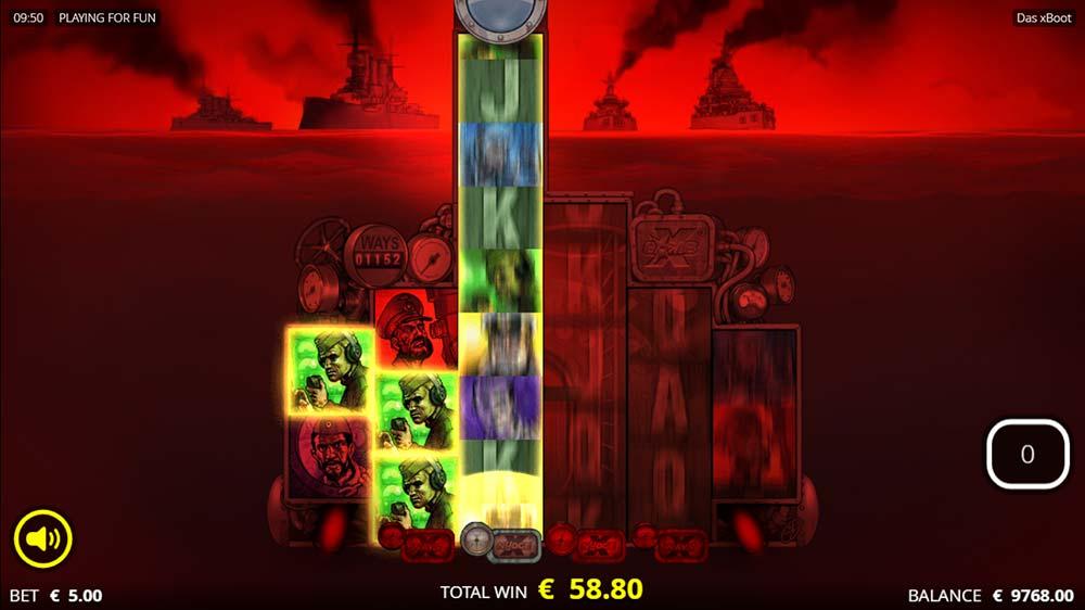 Das xBoot Slot - Free Spins Symbol Highlight