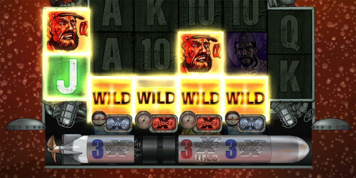 Wolfpack Free Spins - Torpedo Wilds