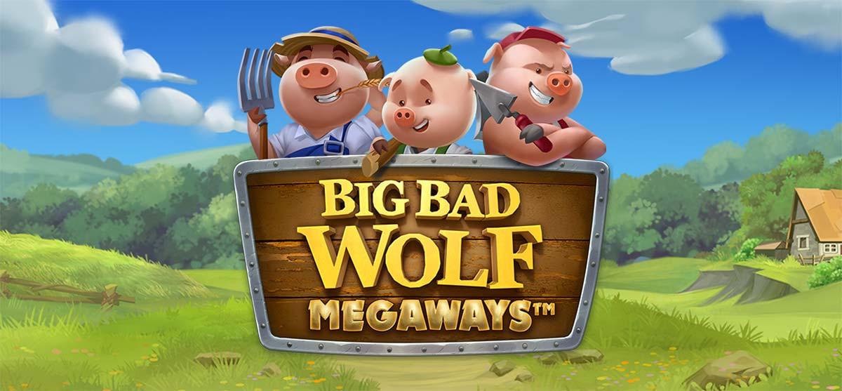 Big Bad Wolf Megaways Slot Header