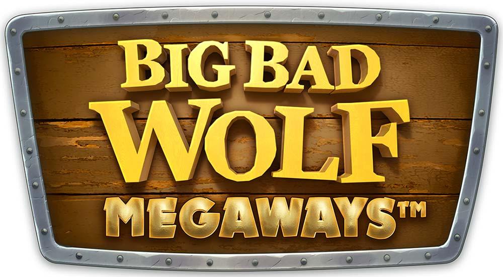 Big Bad Wolf Megaways Slot Logo