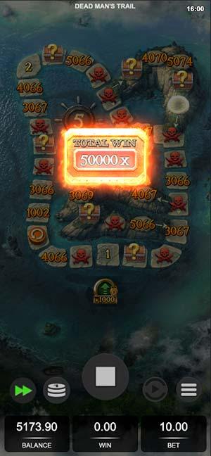 Dead Man's Trail Mobile Slot - Max Win