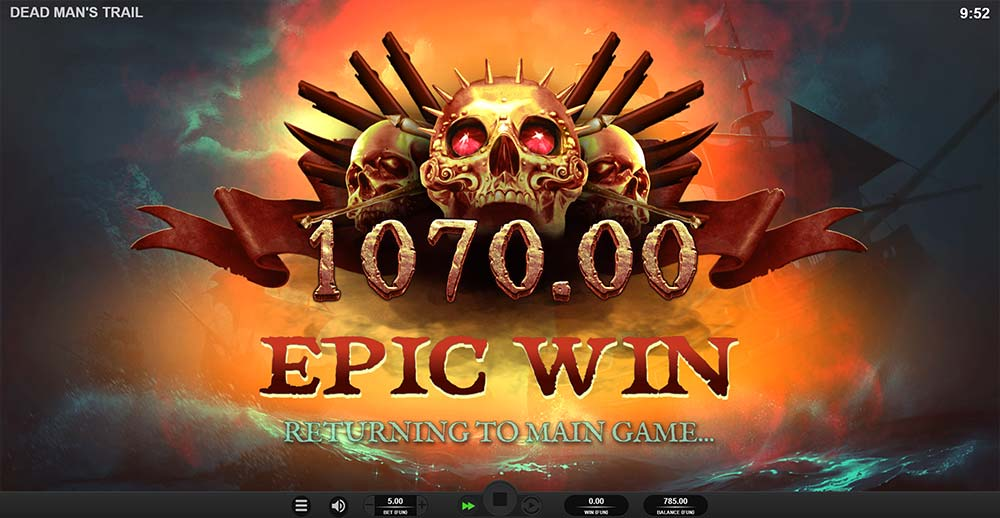 Dead Man's Trail Slot - Epic Win