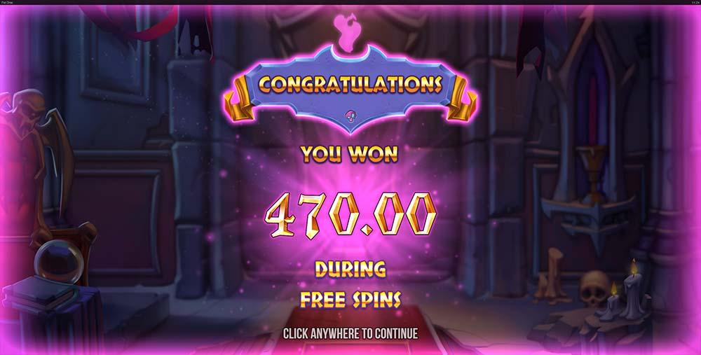 Fat Drac Slot - Bonus End