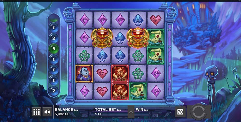 Fat Drac Slot - Bonus Trigger