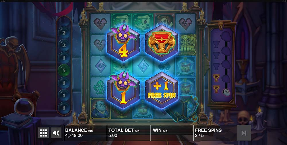 Fat Drac Slot - Coffin Picks During Free Spins