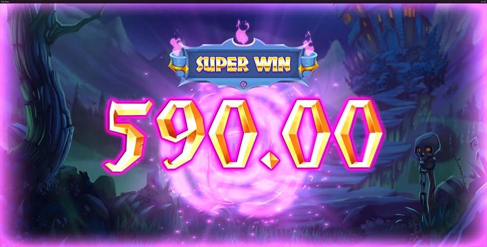 Fat Drac Slot - Super Win Animation