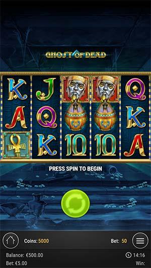 Ghost of Dead Mobile Slot - Bonus End