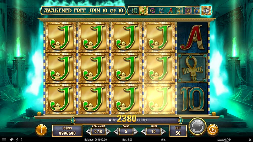 Ghost of Dead Slot - Awakened Free Spins