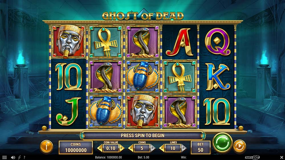 Ghost of Dead Slot - Base Gameplay