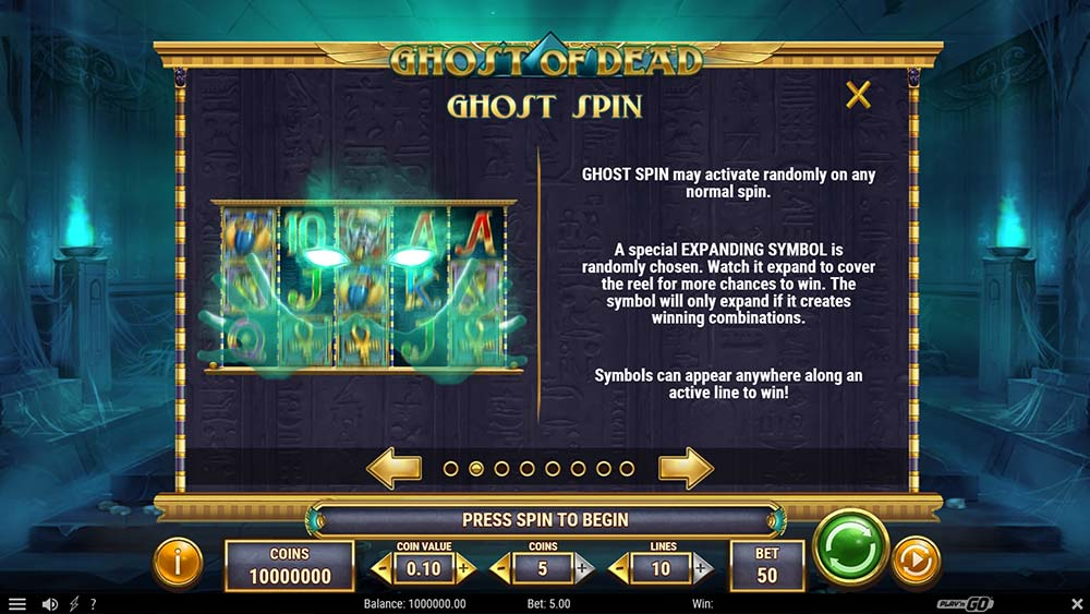Ghost of Dead Slot - Ghost Spin Explained