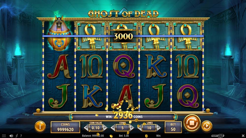 Ghost of Dead Slot - Base Game High Paying Symbol 5 of a kind