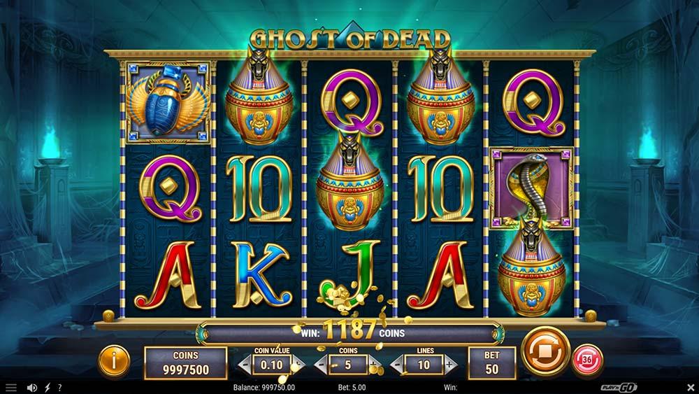 Ghost of Dead Slot - 4 Scatter Bonus Trigger