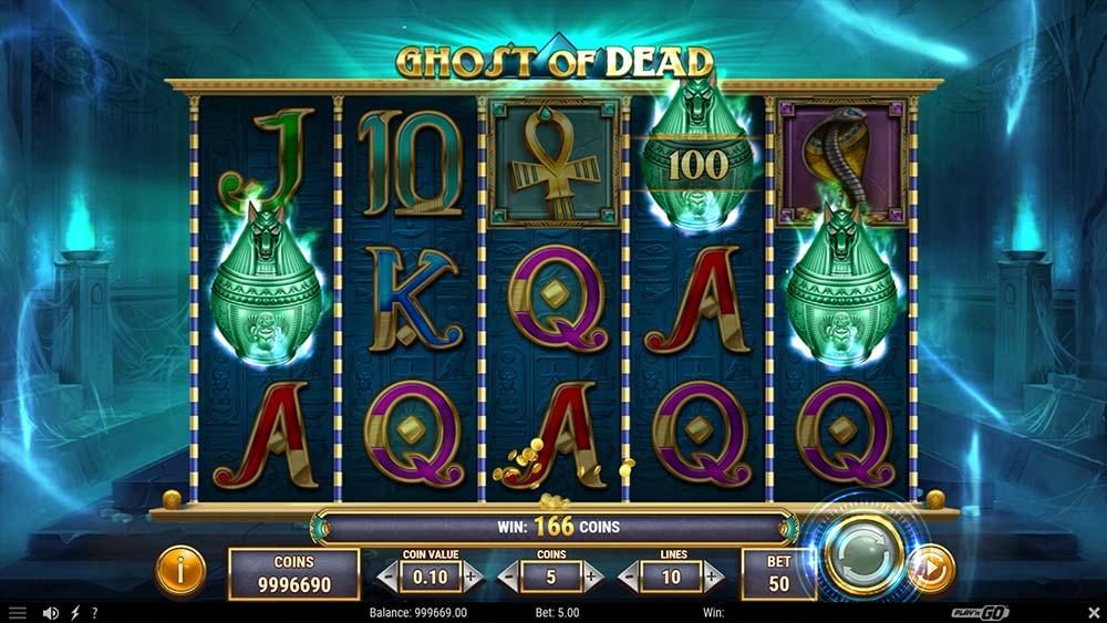 Ghost of Dead Slot - 3 Spectral Scatter Bonus Trigger
