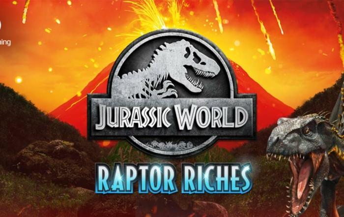 Jurassic World: Raptor Riches Slot Header