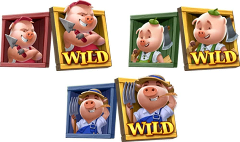Pig Wild Symbols Upgraded