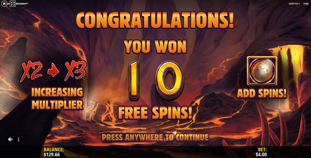 Tyrant King Megaways Slot - Free Spins Start
