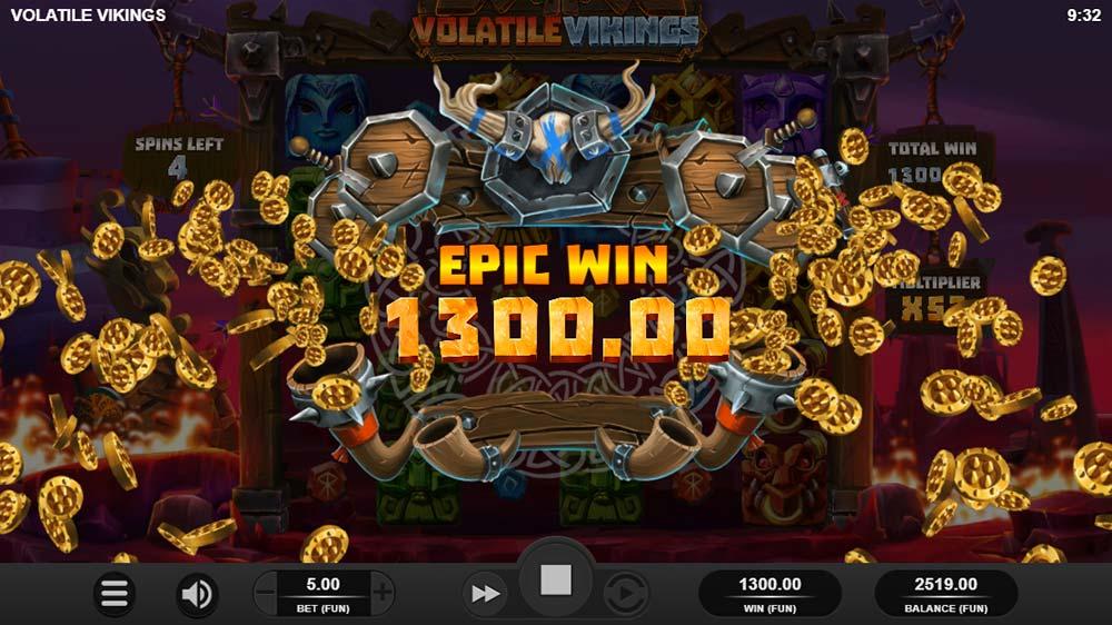Volatile Vikings Slot - Epic Win