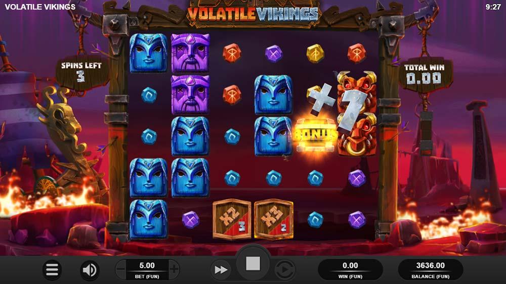 Volatile Vikings Slot - Extra Spin