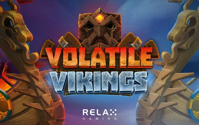 Volatile Vikings Slot Header Logo