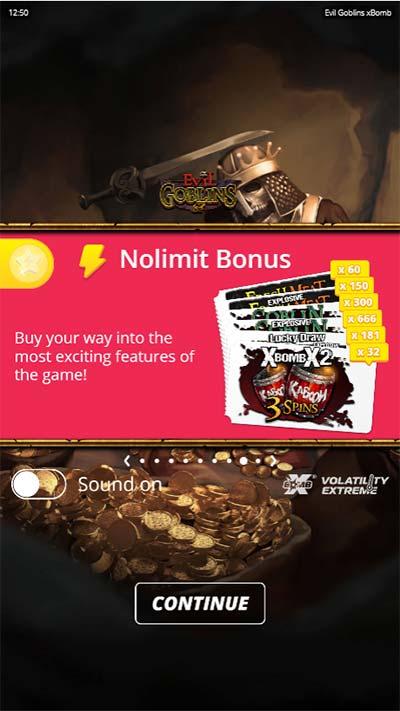 Evil Goblins Mobile Slot - Bonus Buys