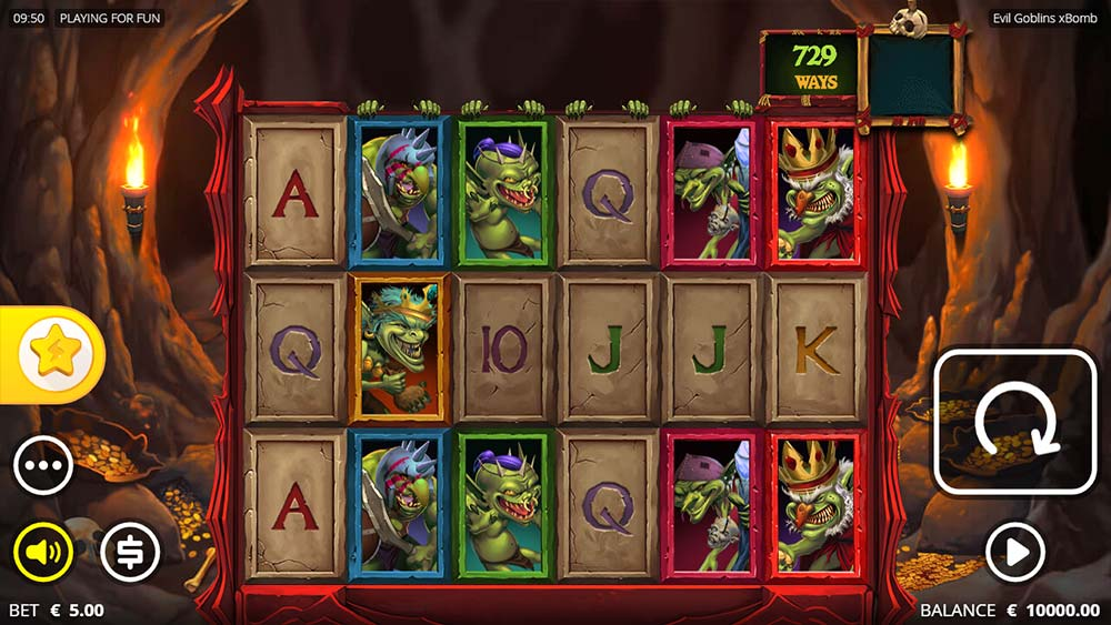 Evil Goblins Slot - Base Game