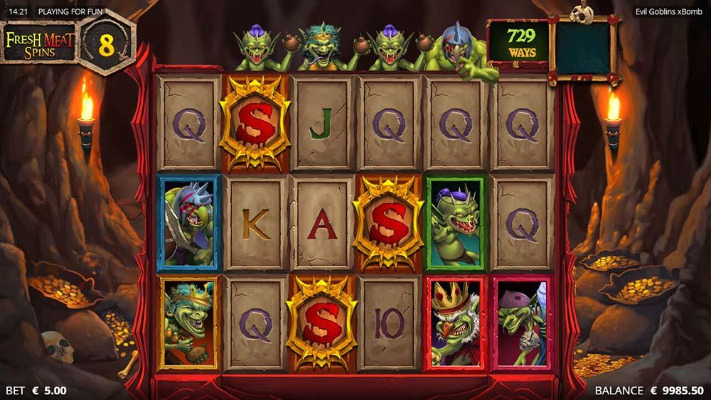 Evil Goblins Slot - Bonus Trigger