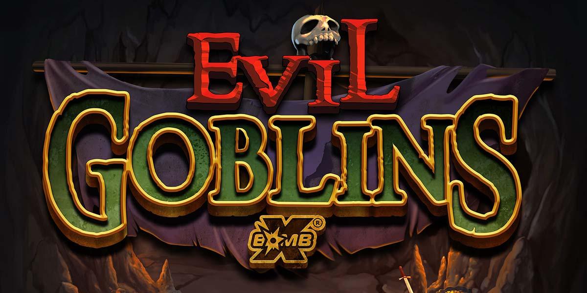 Evil Goblins Slot Header