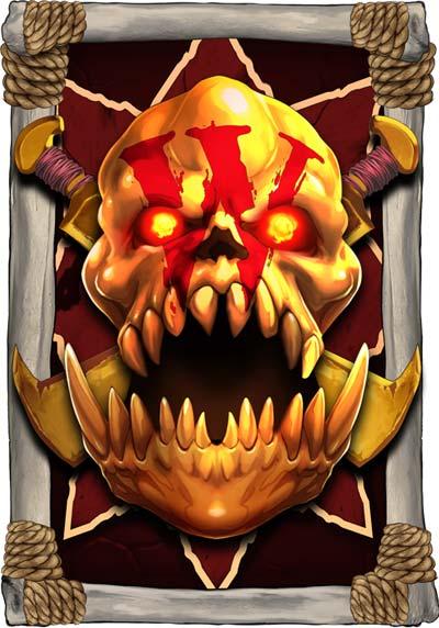 Evil Goblins Resurrected Wild Symbol
