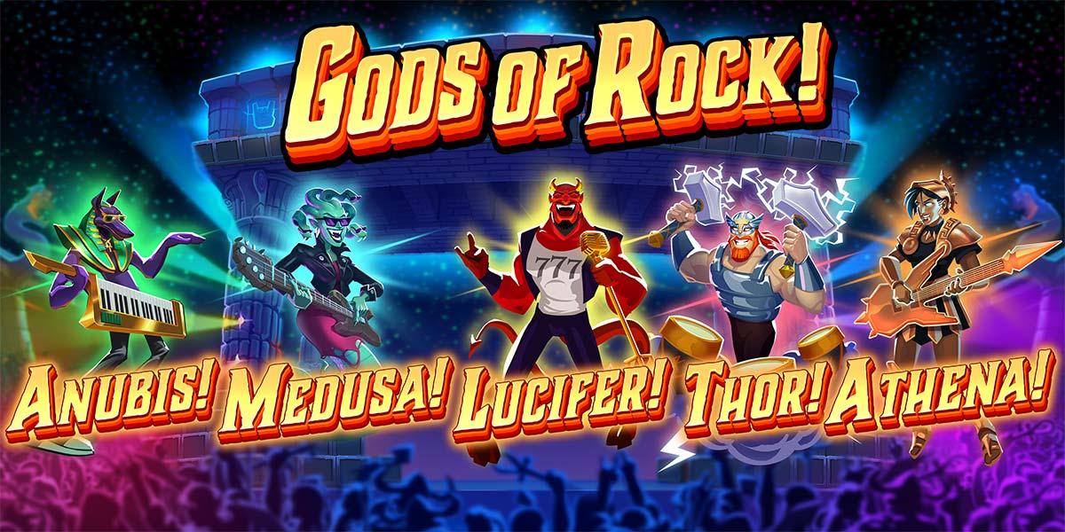 Gods of Rock Slot - High Paying Symbols