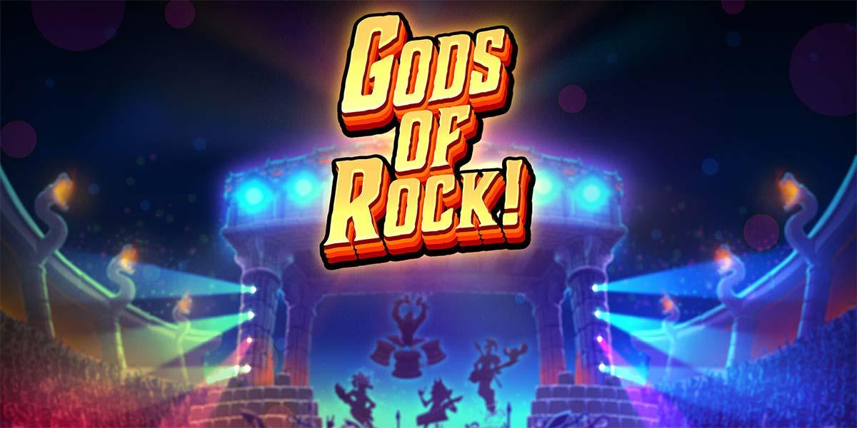 Gods of Rock Slot header