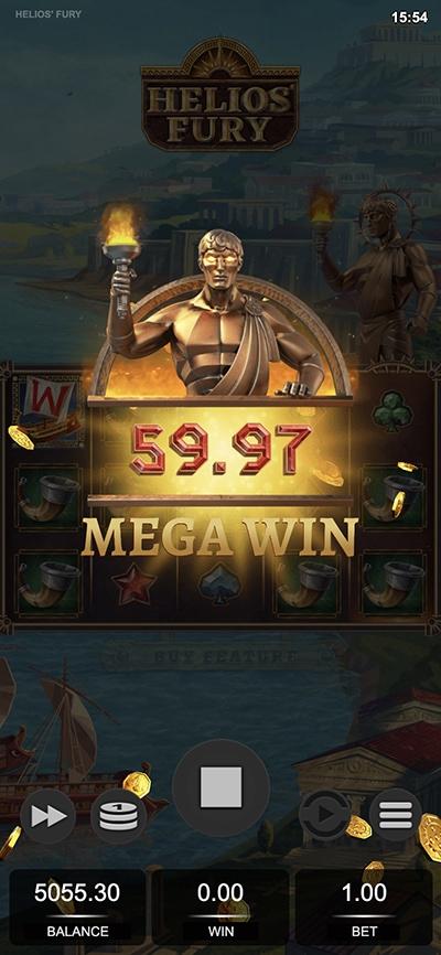 Helios Fury Mobile Slot -Mega Win