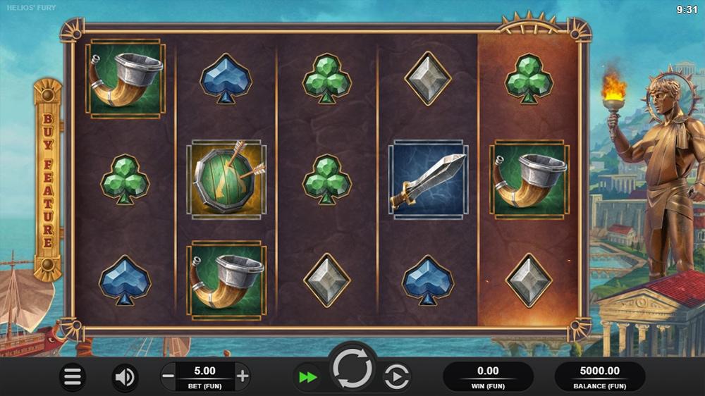 Helios Fury Slot - Base Game