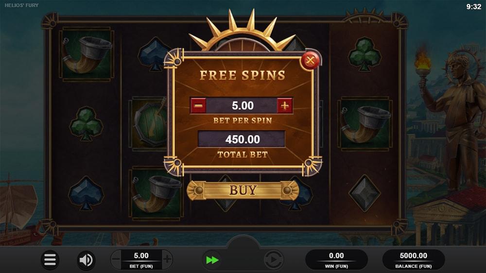 Helios Fury Slot - Bonus Buy