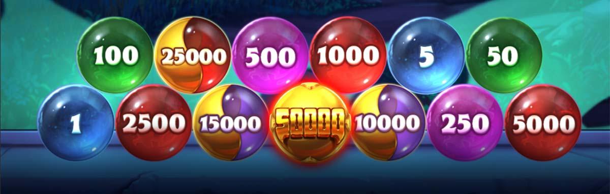 Instant Prize Bubbles