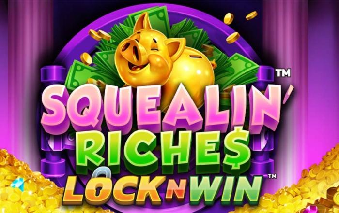 Squealin Riches Header