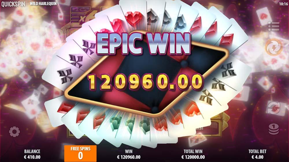 Wild Harlequin Slot - Epic Win