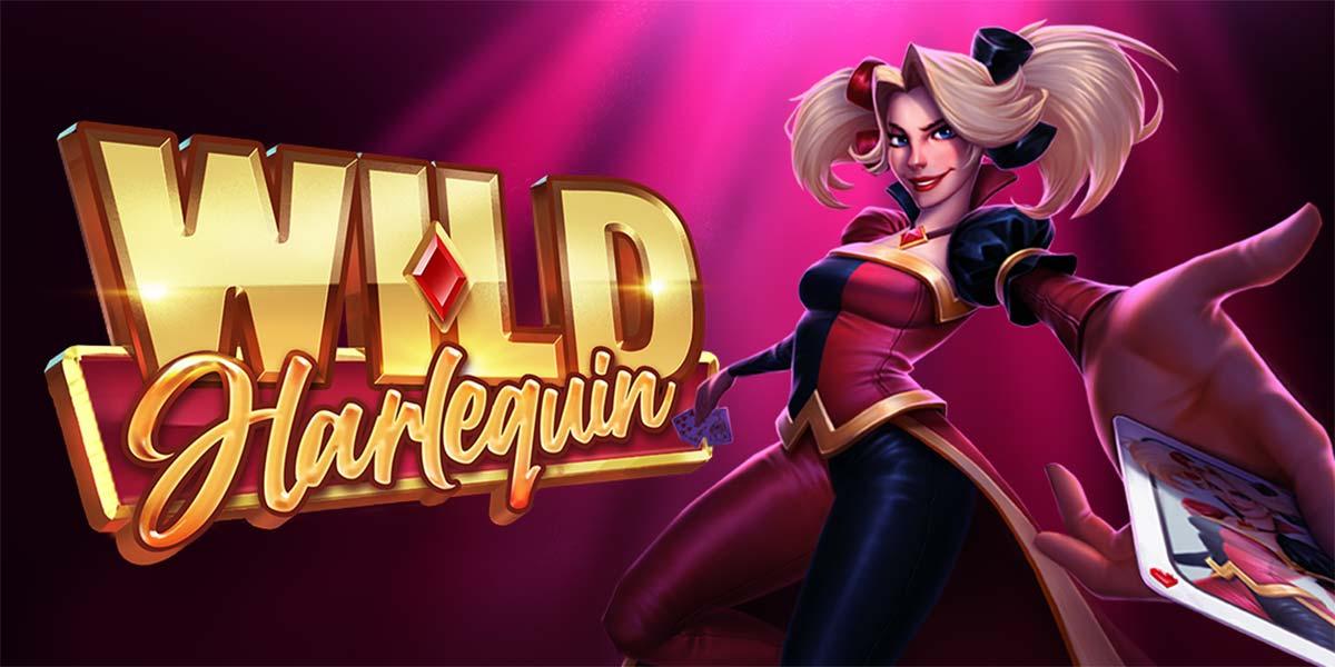 Wild Harlequin Slot Header