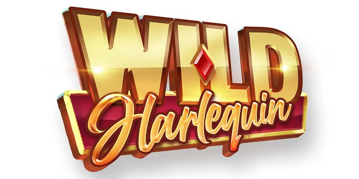 Wild Harlequin Slot Logo